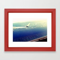 Leaving Paradise  Framed Art Print