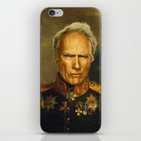 Clint Eastwood - replaceface iPhone & iPod Skin
