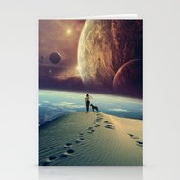 dog Stationery Cards featuring Explorer by POP.