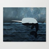 Whale Tales Canvas Print