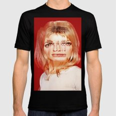 Another Portrait Disaster · S1 SMALL Mens Fitted Tee Black