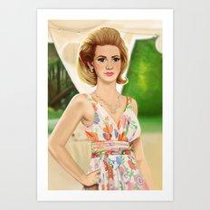 betty Art Print