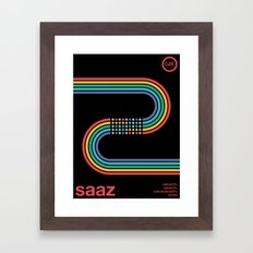 saaz noble hop Framed Art Print