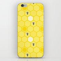 Honey Bees iPhone & iPod Skin