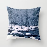 Perfect Winter Throw Pillow