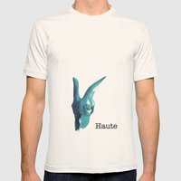 Haute Mens Fitted Tee Natural SMALL