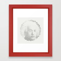 Optical Illusions - Iconical People 3 Framed Art Print
