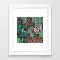 ∂∫ Framed Art Print