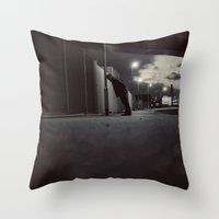 Just Me Throw Pillow