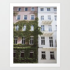 Berlin Apartments Art Print