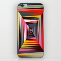 Retro Tunnel iPhone & iPod Skin