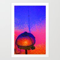 grilled Art Print