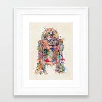 Retro R2 Framed Art Print