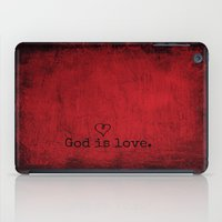 God is Love iPad Case