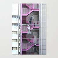Construction site Canvas Print