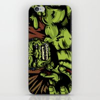 Hulkenstein SMASH! iPhone & iPod Skin