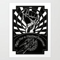 Net Neutrality Art Print