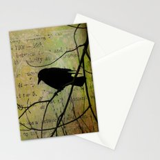 Thoughts Of Crow Stationery Cards