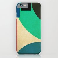 geometric mess iPhone 6 Slim Case