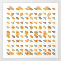 Autumn Love Art Print