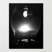 Canvas Print featuring Into the night by Vorona Photography