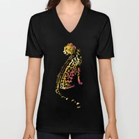Space Leopard Unisex V-Neck