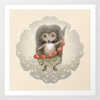 Presents from Forest Art Print