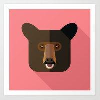 American Black Bear Art Print