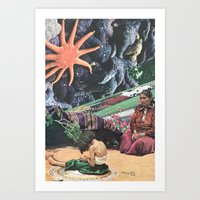 Hollow Sound Of The Morning Chimes Art Print