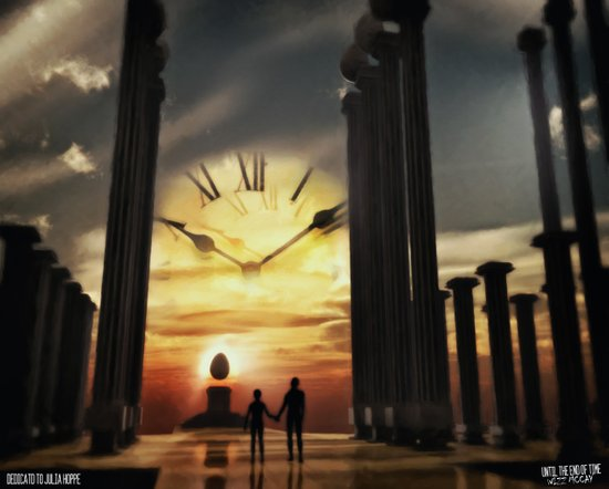 Until The End Of Time Art Print