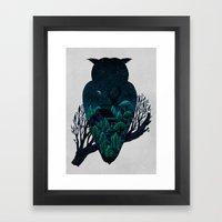 Owlscape Framed Art Print
