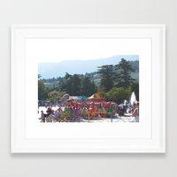 Carnival in Yalta Framed Art Print