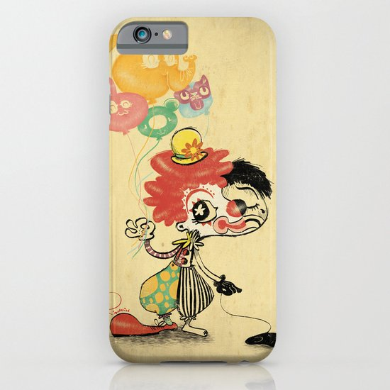 The Clown / Balloons iPhone & iPod Case