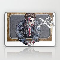 Zombie James Dean Laptop & iPad Skin