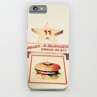 What A Burger iPhone 6 Slim Case