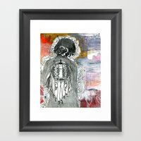 Prayer to the Mystery Framed Art Print