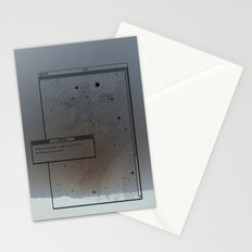 Pixel Screencapture - Are They Pixels Or Stars? Stationery Cards