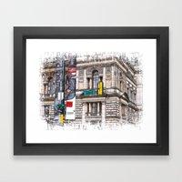 World War Z Street Locat… Framed Art Print