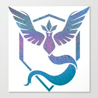 Rad Team Mystic Canvas Print