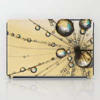 Single Dandy Seed Web Drops iPad Case