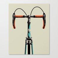 Bike Portrait 3 Canvas Print