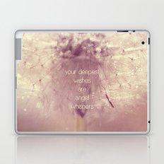 angel whispers Laptop & iPad Skin