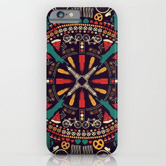 Mandala NYC - new york iPhone & iPod Case