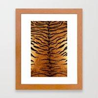 Haute Tiger Framed Art Print