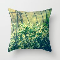 Bloom With Wild Abandon Throw Pillow