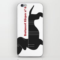 Bratwurst Körper  iPhone & iPod Skin