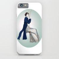 Fashion Illustration - Pride & Prejudice iPhone 6 Slim Case