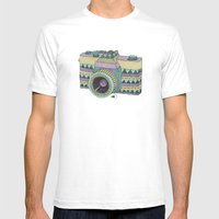 Another Point Of View Mens Fitted Tee White SMALL