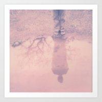 My Reflections - Polaroi… Art Print