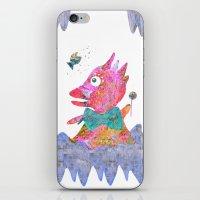 Fish's Whisper  iPhone & iPod Skin